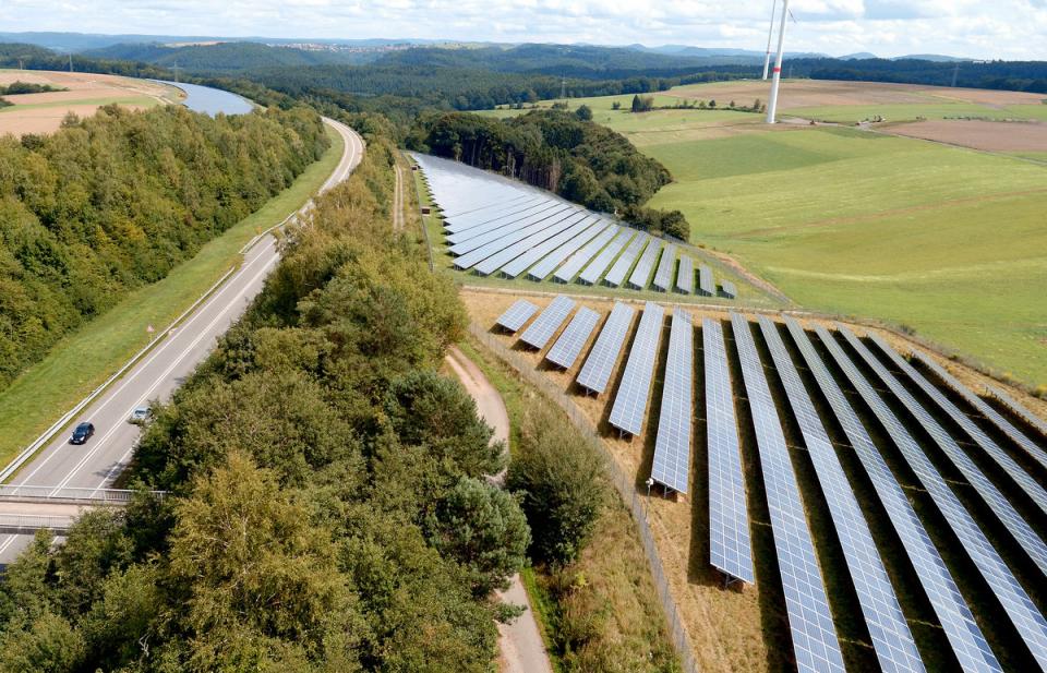 Beispielfoto: TEE Solarpark Südwestpfalz