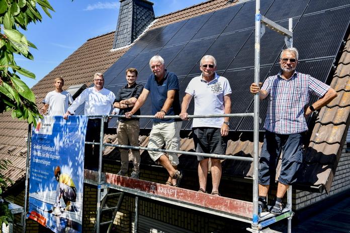 Solardorf Ampen - Stadtwerke Soest