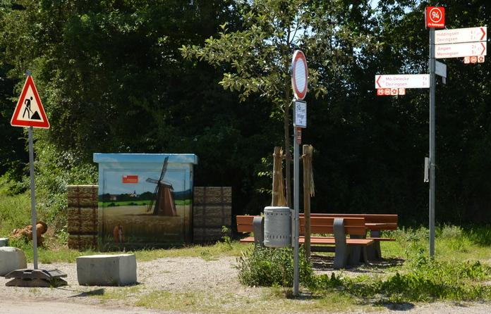 Stadtwerke Soest Streetart - Station Meiningsen I